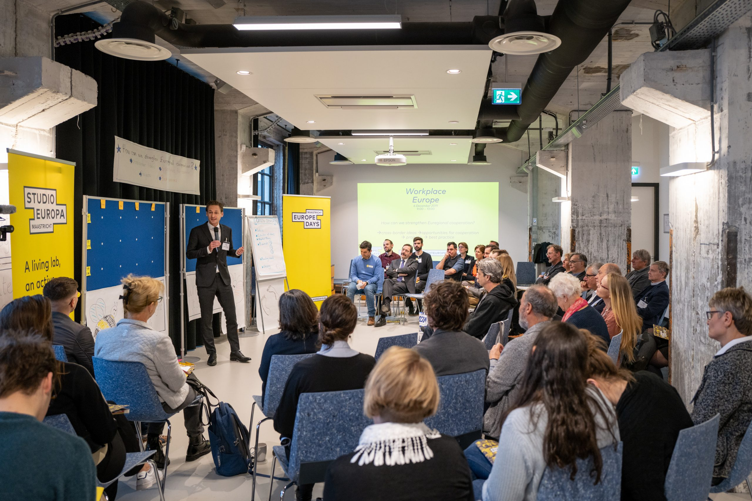 Workplace Europe:  cooperation in the Euregion