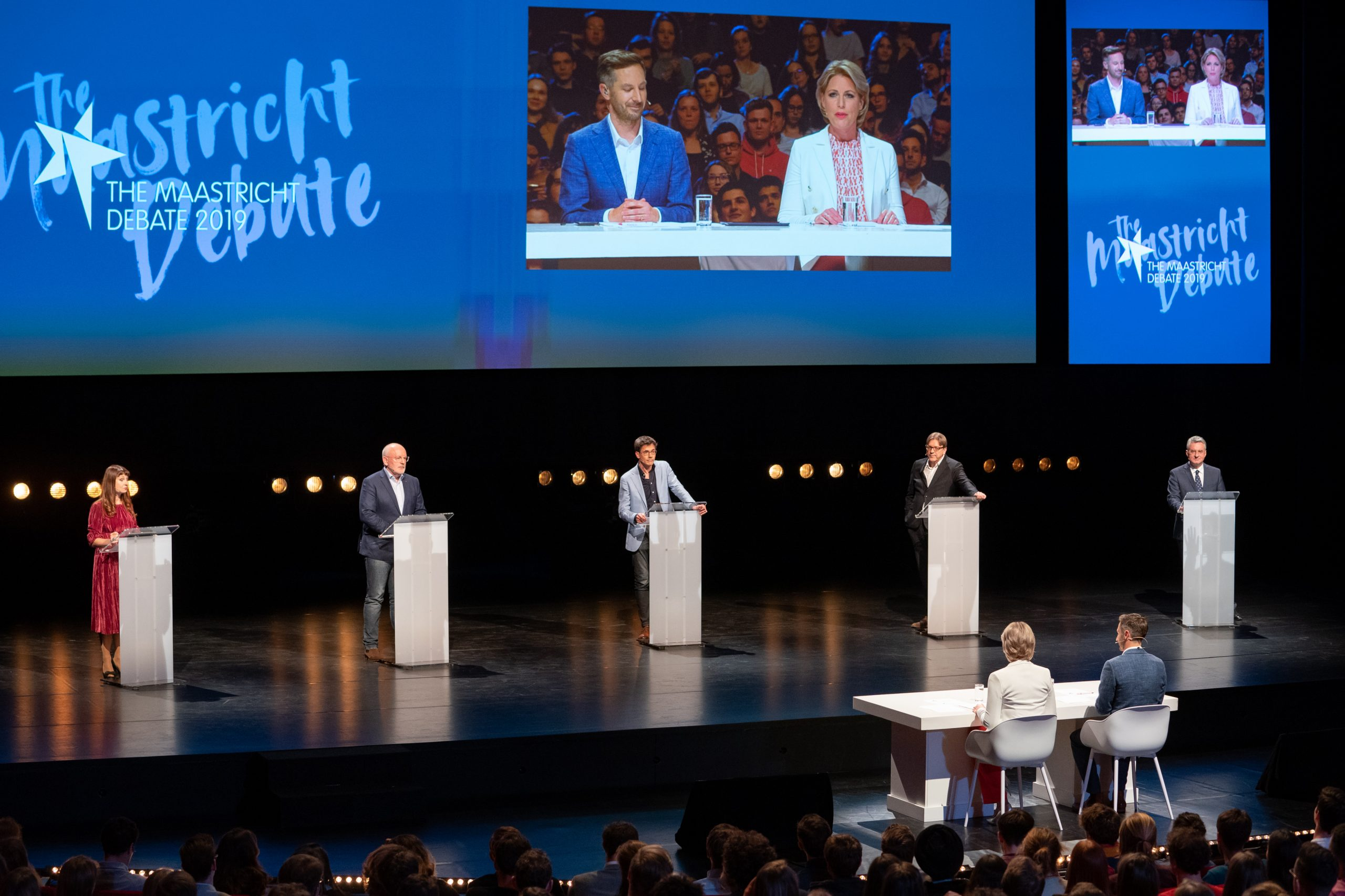 Het Spitzenkandidaten debat en de Live Viewing Party
