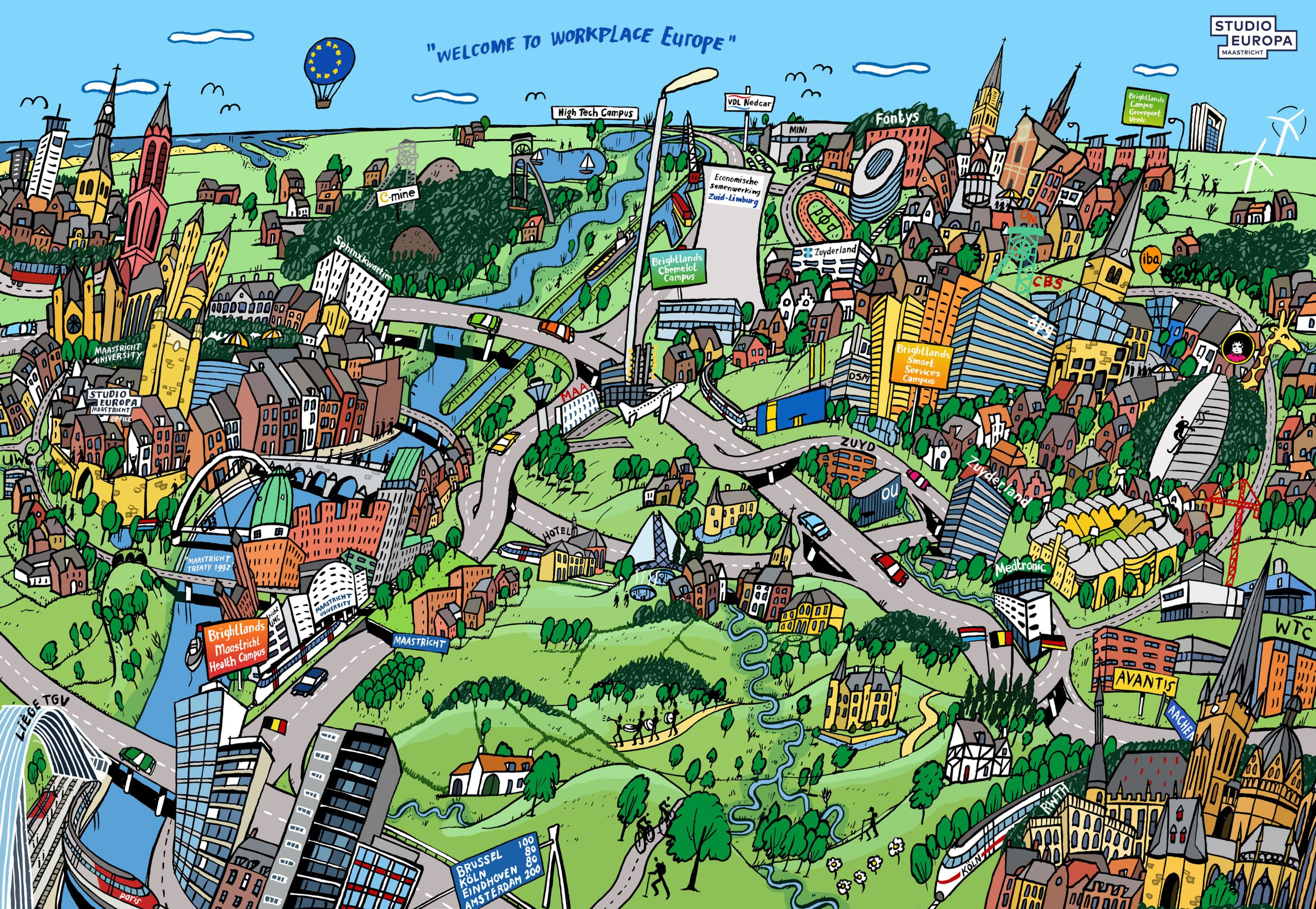 Maastricht & the Euregion: A Workplace for Digital Innovation
